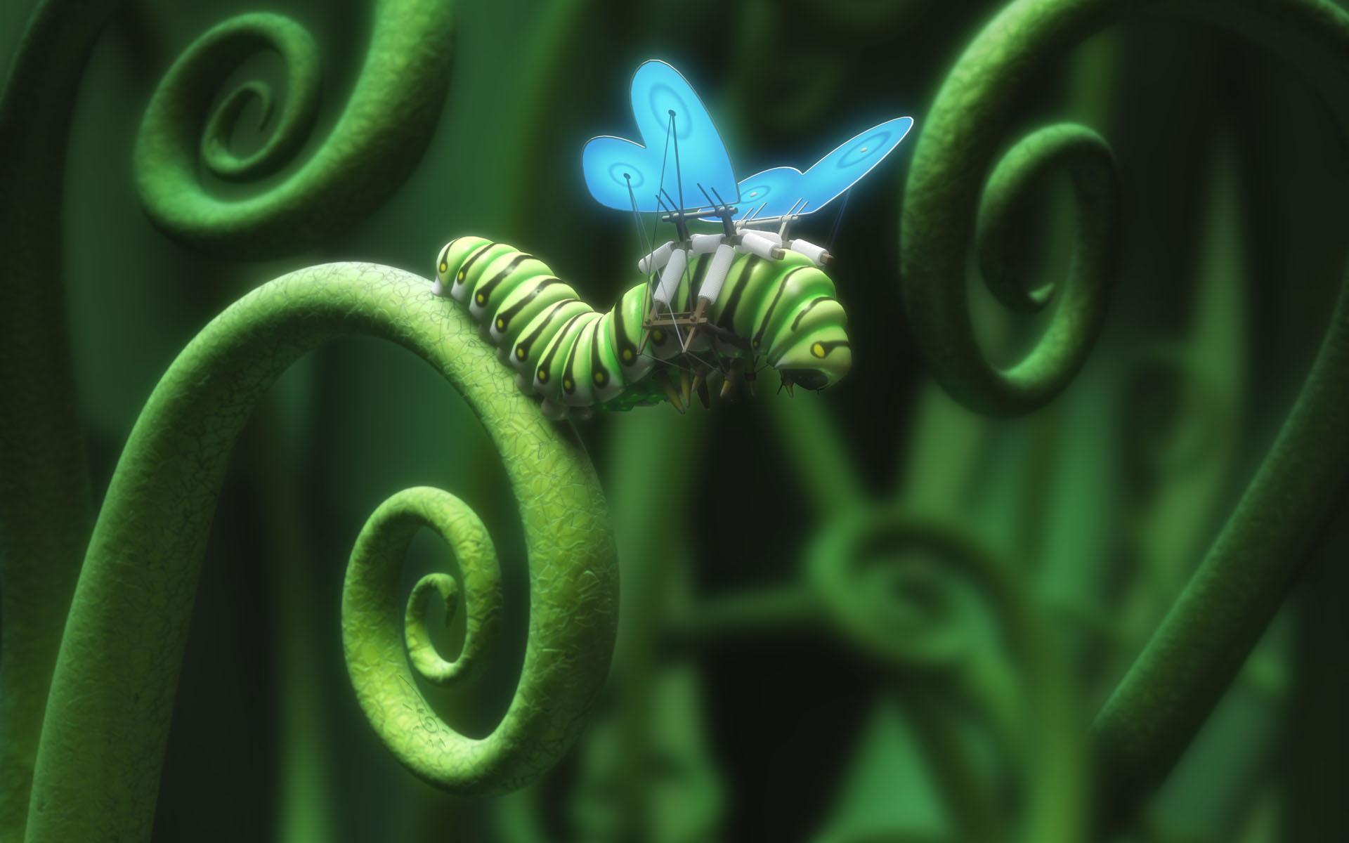 caterpillar rich diary